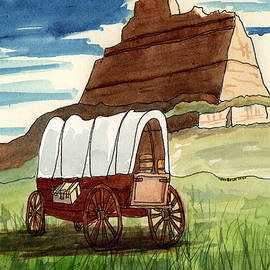 Scotts Bluff National Monument by Margaret Bucklew