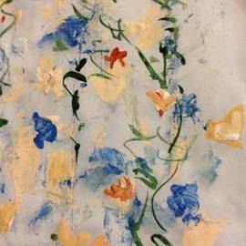 Scrolling Springtime 3 by Nancy Kane Chapman