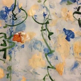 Scrolling Springtime 5 by Nancy Kane Chapman