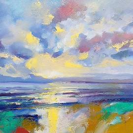 Sea landscape after rain  by Lorand Sipos