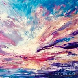 Sea Sky  by Angela Haig-Harrison