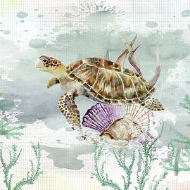 Sea Turtle by Kelley Freel-Ebner