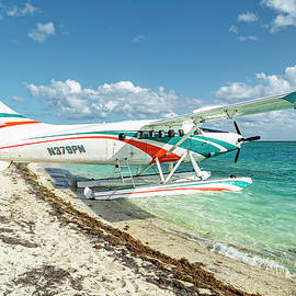 Seaplane to the Dry Tortugas by Kay Brewer