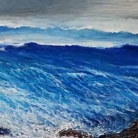 Seascape fantacy by Larry Palmer