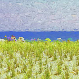 Seaside Heights - Photopainting by Allen Beatty