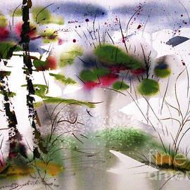 Seasons iShining through a Misty Fog by Catherine Ludwig Donleycott