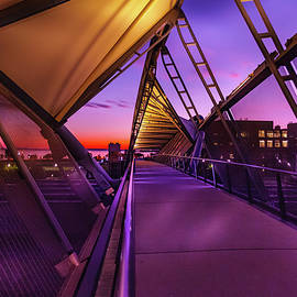 Seattle  DNA Bridge 002 by Mike Penney