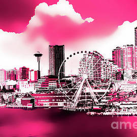 Seattle Selective Colors by Eddie Eastwood