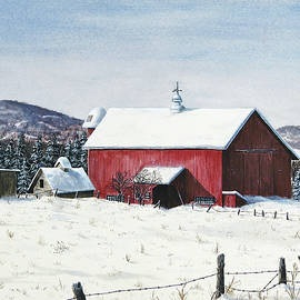 Secure For The Winter by Charles Marvil