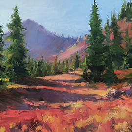 Seeing Red at the Seven Devils by Steve Henderson