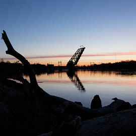 Seekonk River Sunrise by Andrew Pacheco