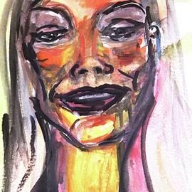 Selfie No.17 - Looking Down by Debora Lewis