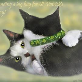 Sending a Big Hug for St. Patrick's Day by Angela Davies