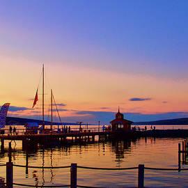 Seneca Lake at Sunset by Richard Perry