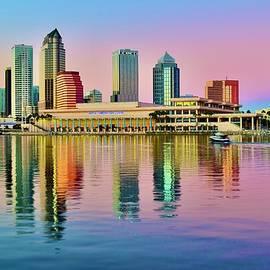 Sensational Sundown in Tampa by Frozen in Time Fine Art Photography