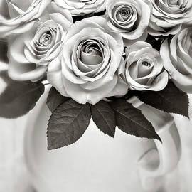 Sepia Petals by John Rogers