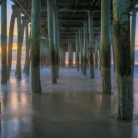 September Morning Beneath the Pier by Kristen Wilkinson