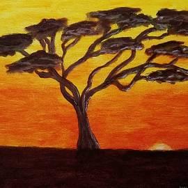 Serengeti sunset  by Jimmy Chuck Smith