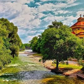 Serenity at the River by Barbara Zahno