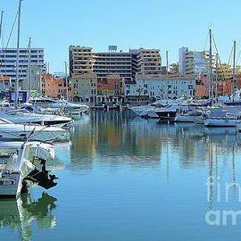 Serenity In Vilamoura, Portugal by Poet's Eye