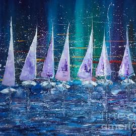 Seven Snow Ships by Taijul Islam