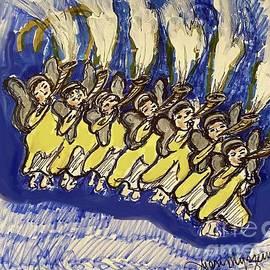 Seven trumpets by Geraldine Myszenski