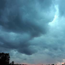 Severe Thunderstorm in NC by Sheri Goodyear
