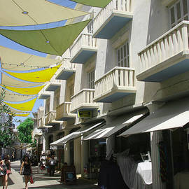 Shade has Color in Old Nicosia by Clay Cofer