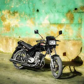 Shadow Of A Motorbike