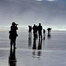 Shadow Reflections - Oceanside - Oregon by Artistic Oregon Photo