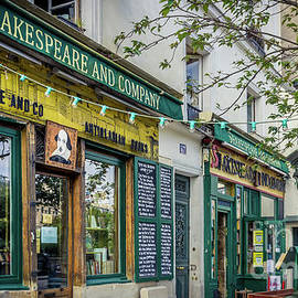Shakespeare and Company Bookstore, Paris, France by Liesl Walsh