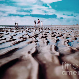Shapes on the beach by Chris Bee Photography