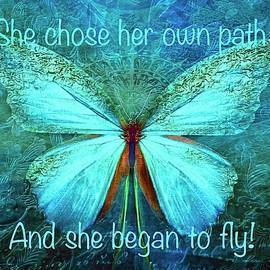 She Chose To Fly by KaFra Art