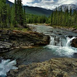 Sheep River Falls by Dorothy Pinder