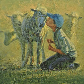 Sheepish Kiss by Mia DeLode