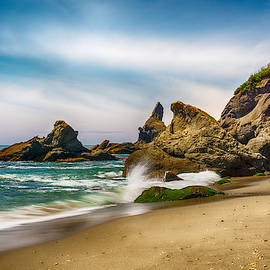 Shi Shi Beach Rocks by Amanda Jones