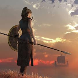 Shield-Maiden by Daniel Eskridge