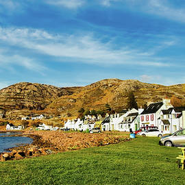Shieldaig Village, Wester Ross, Scotland. by Robert Murray