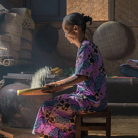 Shifting the rice by Anges van der Logt