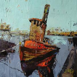 Ship by Kamsar Ohanyan