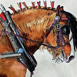Shire Horse by Karen Harding