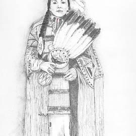 Shoshone Princess by Robert H Ward
