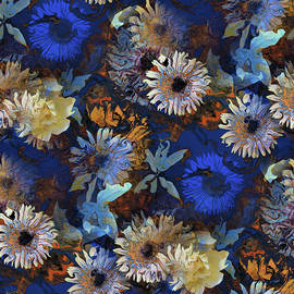 Showy Blooms by Natalie Holland