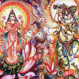 Shree Lakshmi Ganesha  by Harsh Malik
