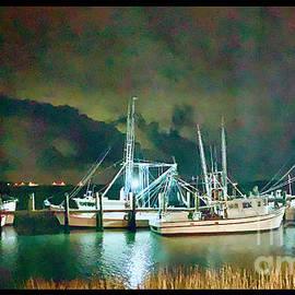 Shrimp boats  by Michael Sowa