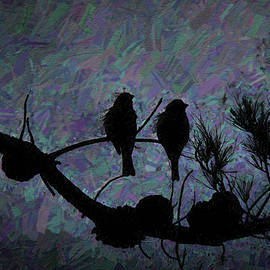 Side by Side At Night  by Linda Brody