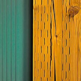 Side by Side - Expressionism by Bob Lentz