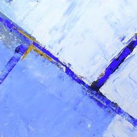 Sideways Blue by Nancy Merkle