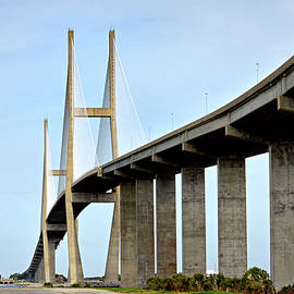 Sidney Lanier Bridge at Brunswick by Bill Swartwout Photography