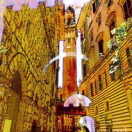 Siena Through the Roman Gates by Bonnie Marie